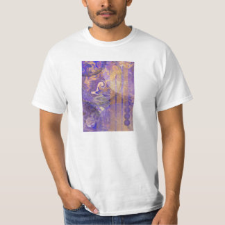 Lunar intryck t-shirts