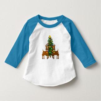 Lunar och för pilsmåbarn 3/4 för sleeve för Raglan T-shirts