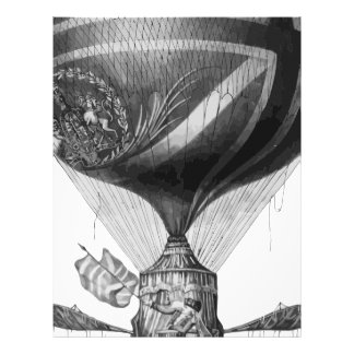 Lunardi's_New_Balloon_as_it_ascended_with_Himself_ Brevhuvud