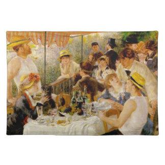 Luncheon av rodddeltagaren Auguste Renoir Bordstablett