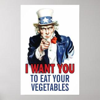 Lunchroomaffisch: Tillfoga din egna text Poster