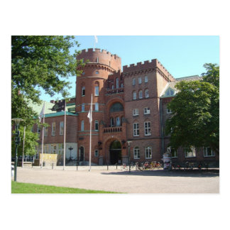 Lund universitetenslott vykort