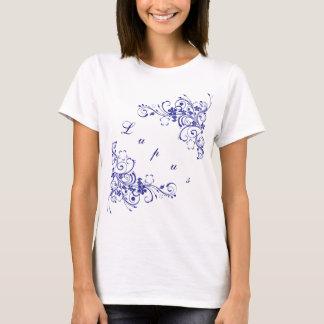 Lupus i blått tee shirts