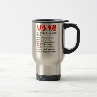 Lupusvarningstravel mug resemugg