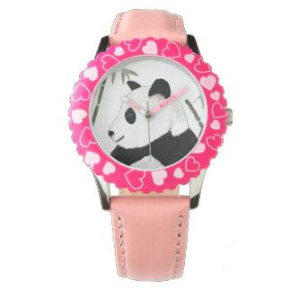 Lurar den jätte- pandaen för den gulliga armbandsur