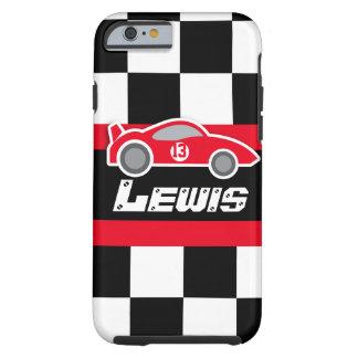 Lurar den tävlings- röda sportbilen som namnges tough iPhone 6 case