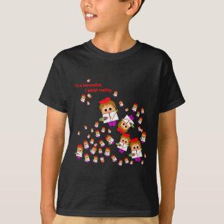 """""""Lurar I�m en surrealistisk"""" konstnär den mörka Tee Shirts"""