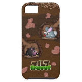 Lutande & grodd - underjordisk kanin- & MoleiPhone iPhone 5 Fodraler