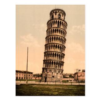 Lutande torn av Pisa Vykort