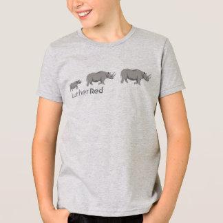 """Luther röd """"svart noshörning """", tshirts"""
