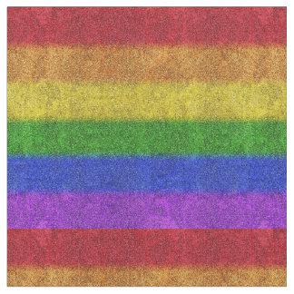 Lutning för Falln regnbågeglitter Tyg