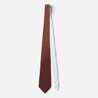 Lutningen skuggar av brunt slips