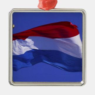 Luxembourg flagga RF) Julgransprydnad Metall