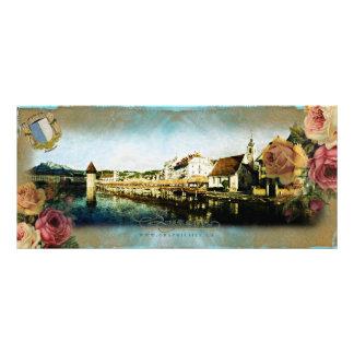 LUZERN - Rackcard/vykort Anpassningsbara Rackkort