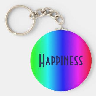 Lycka mång--färgad nyckelring