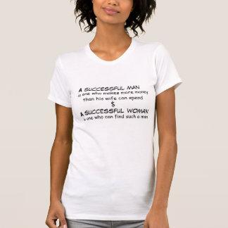 Lyckad man och lyckad kvinnaT-tröja Tröjor