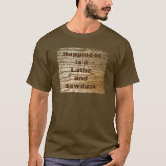 Lyckadrejbänk och Sawdust Tee Shirt