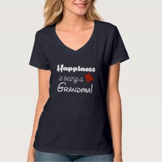Lyckan är en mormor t-shirts
