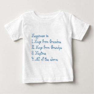 Lyckan är mormodern och morfadern (för blått) t-shirt