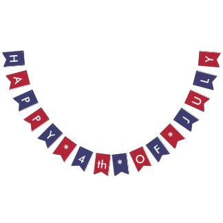 Lycklig 4th av partyet för Juli amerikanska Vimplar