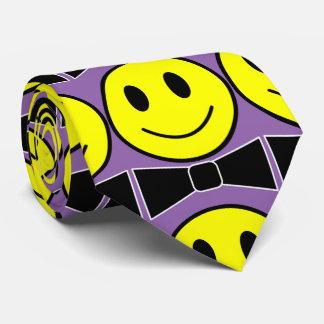 Lycklig ansikteflugaslips slips