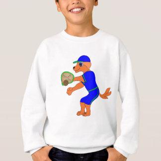 Lycklig baseball vid Lycklig Juul Företag T-shirts