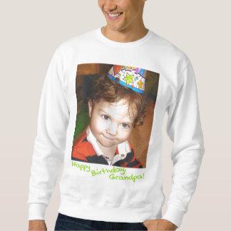 lycklig-bday-morfar sweatshirt