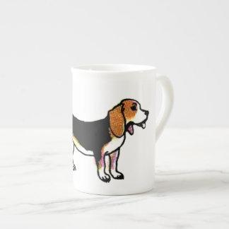 Lycklig Beagle Tekopp