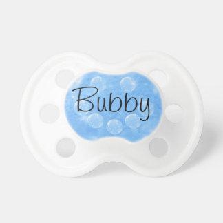 Lycklig bubblar den Bubby nappar