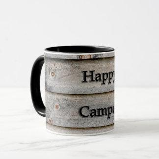 Lycklig campare mugg