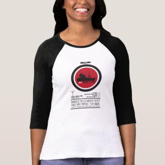 Lycklig chickRaglan T-shirt