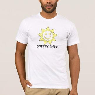 lycklig dagTshirt Tee Shirt