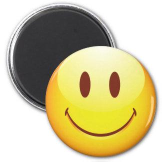 Lycklig Emoticon Kylskåpsnagnet