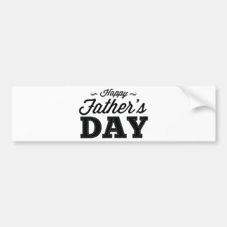 Lycklig fars dag bildekal