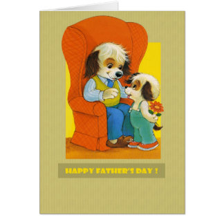 Lycklig fars dag hälsningskort