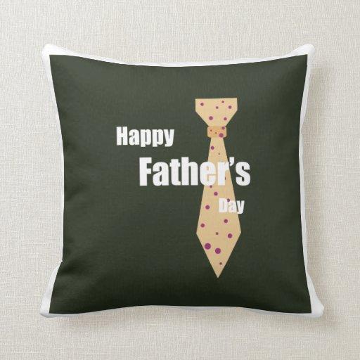 Lycklig fars dag prydnadskuddar