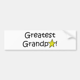 Lycklig fars dag morfar! bildekal