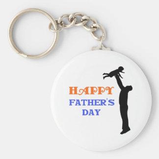 Lycklig fars dag nyckel ringar