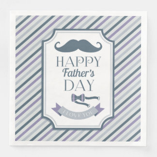 Lycklig fars dag servetter