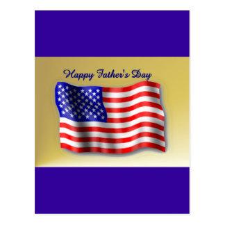 Lycklig fars dag vykort