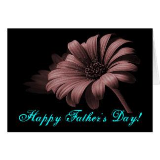 Lycklig fars dagkakaodaisy V Hälsningskort