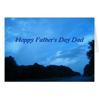 Lycklig fars dagpappa hälsningskort