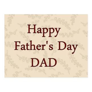 Lycklig fars dagPAPPA Vykort