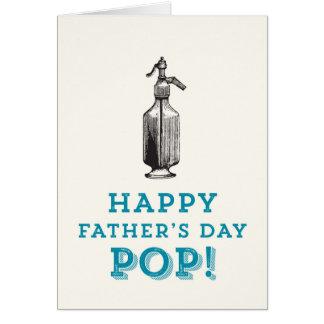 Lycklig fars dagPOP! Hälsningskort