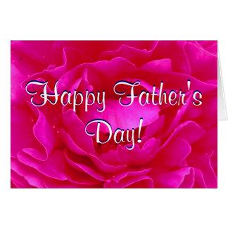 Lycklig fars dagrosa ros