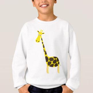 lycklig för glädje för gullig baby djur för giraff tee shirts