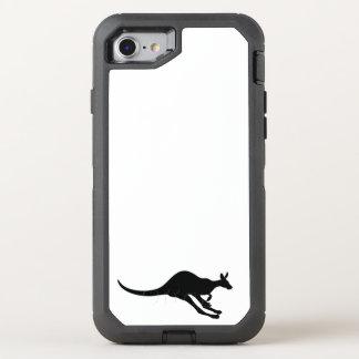 lycklig för glädje för gullig baby djur för OtterBox defender iPhone 7 skal