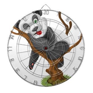 lycklig för glädje för gullig baby djur för panda darttavla