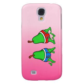 Lycklig gay pride kopplar ihop Pears Galaxy S4 Fodral