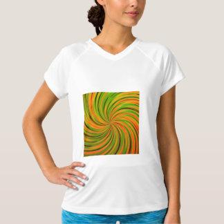 Lycklig grön orange (C) Tee Shirt